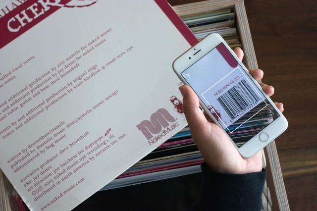 Discogs App - barcode scanner 1