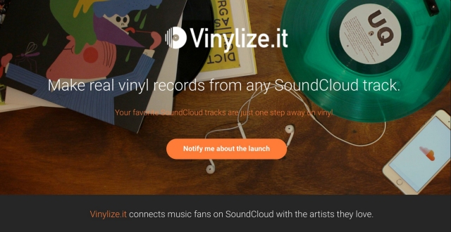 Vinylize.it, soundcloud