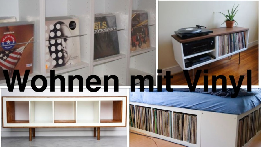 wohnen mit vinyl die 5 besten ikea hacks f r plattenfans. Black Bedroom Furniture Sets. Home Design Ideas