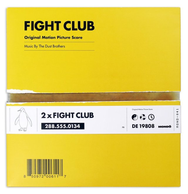 Fight Club, Soundtrack, Mondo, Vinyl