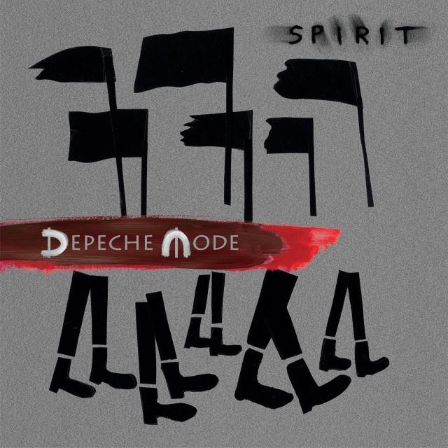 depech emode, spirit, record cover